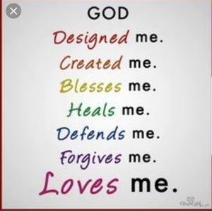 God never left us